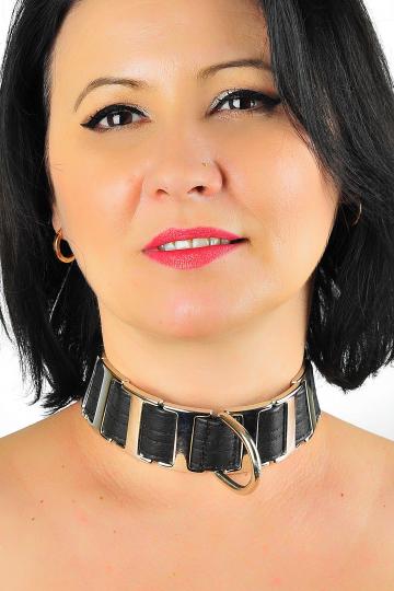 Leder Halsband 09