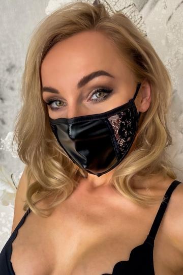 Maske 1 seitlich Spitze