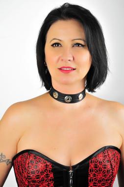 Leder Halsband 10