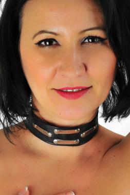 Leder Halsband 12