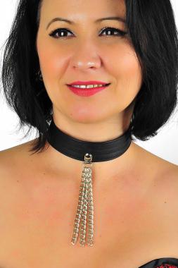 Leder Halsband 13