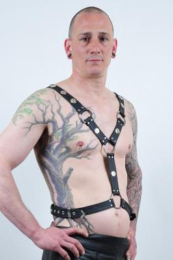 Herren Leder-Harness 10