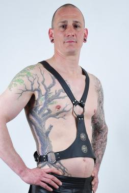Herren Leder-Harness 11