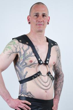 Herren Leder-Harness 12