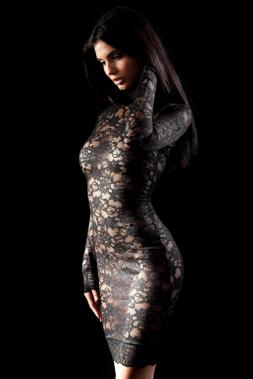 Stretch-Kleid TALIA