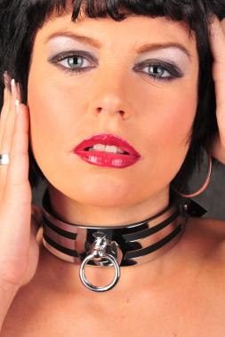 Leder Halsband 02