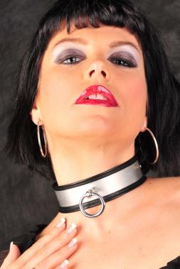 Leder Halsband 03