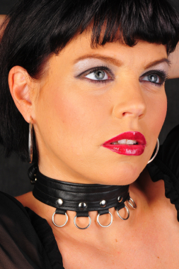Leder Halsband 07