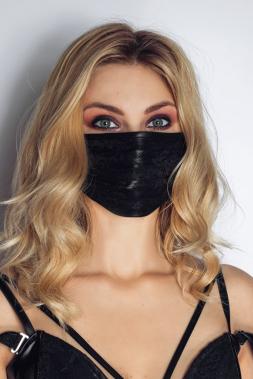 Maske 5 mit Spitze