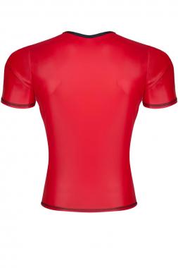 T-Shirt TSH012 rot von Regnes Fetish Planet