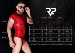Harness String BRI012 schwarz von Regnes Fetish Planet