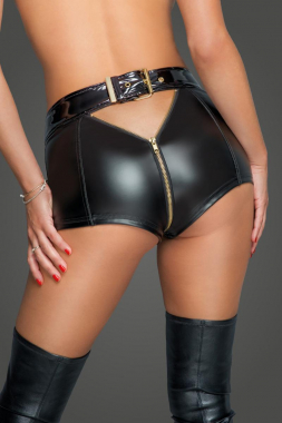 F218 Shorts mit Reißverschluss