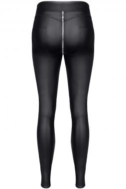 Schwarze Leggings BRMaddalena001 von Demoniq Black Rose 2.0 Collection
