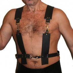 Herren Leder-Harness 14