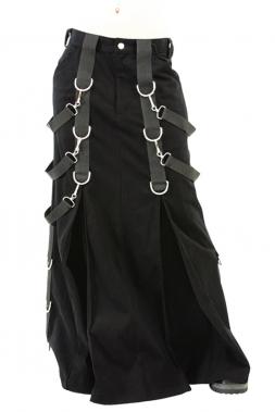Belt Skirt Denim